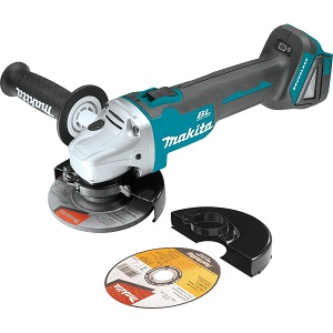 6- Makita XAG03Z 18V LXT Lithium-Ion Brushless Cordless Cut-Off/Angle Grinder, 4-1/2-Inch