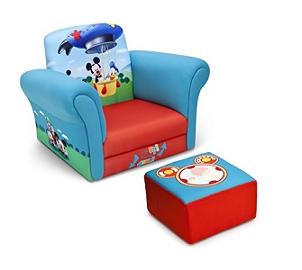 5. Delta Children Upholstered Chair