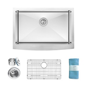 10. Zuhne Prato Stainless Steel Luxury Kitchen Sink