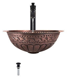 1. 924 Single Bowl Copper Sink