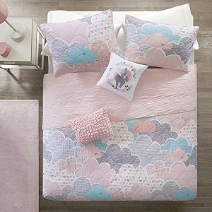 2. Cloud Cotton Printed coverlet Set.