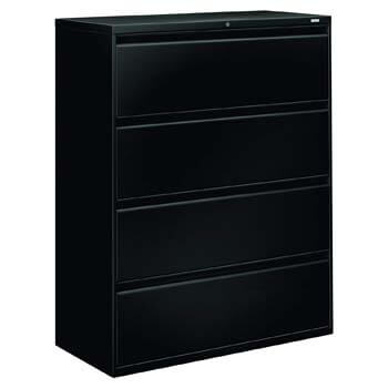 10. HON Brigade 800 Series Lateral File with 4 Drawers and Radius Pull