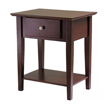 1. Winsome Wood Shaker Night Stand