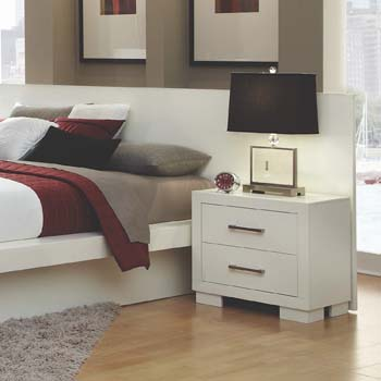 3. Coaster Home Furnishings 203090KW Contemporary Nightstand