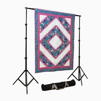 8. Craftgard Portable Quilt Display Stand