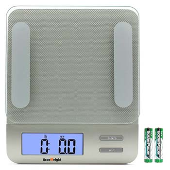 1. Accuweight 207 Digital Kitchen Multifunction Food Scale for Cooking