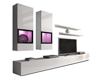 10. Duros Entertainment Center / Contemporary Design Wall Unit