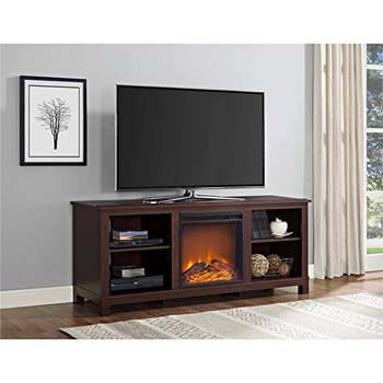 4. Altra Edgewood TV Console with Fireplace