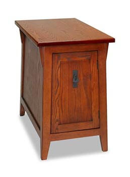 2. Leick Favorite Finds Mission Cabinet End Table