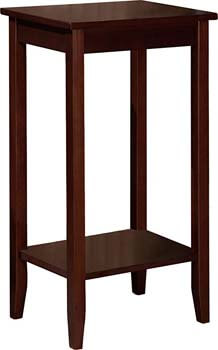 5. DHP Rosewood Tall End Table