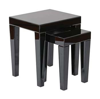 9. AVE SIX Reflections 2-Piece Nesting Table