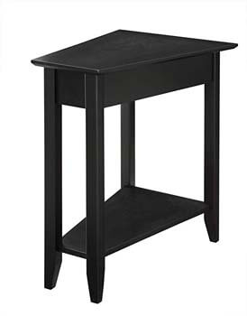 8. Convenience Concepts American Heritage Modern Wedge End Table
