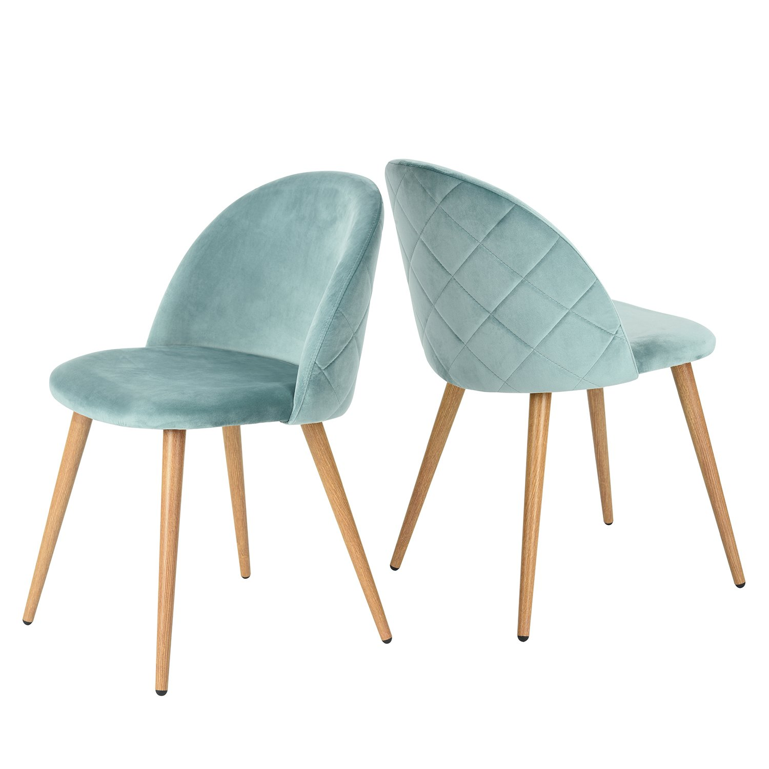 7. GreenForest Living Room Leisure Chairs- set of 2