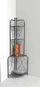 4. Mandalay Iron Corner Rack 3465-EP