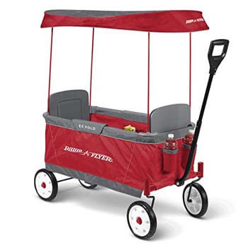 10. Radio Flyer Ultimate EZ Folding Wagon for Kids