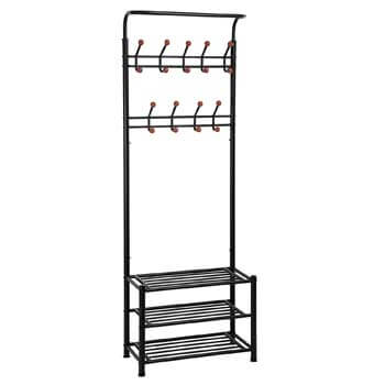 1. SONGMICS Heavy Duty Entryway Rack