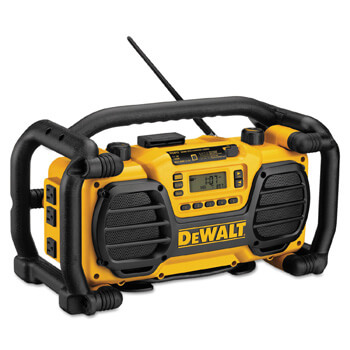 10. DEWALT 7.2V-18V Radio and Battery Charger