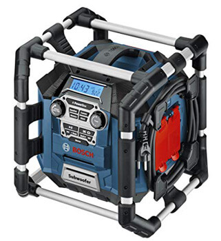 9. Bosch PB360S 18-Volt Lithium-Ion Power Box Jobsite Radio