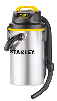 4. Stanley Wet/Dry Hanging Vacuum, 4.5 Gallon