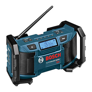 4. Bosch 18-Volt or 120V Compact AM/FM Radio with MP3 Player