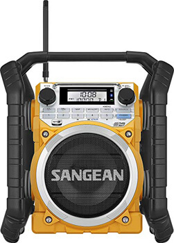 5. Sangean Weather Alert/Bluetooth/Aux-in Ultra Rugged Rechargeable Digital Tuning Radio