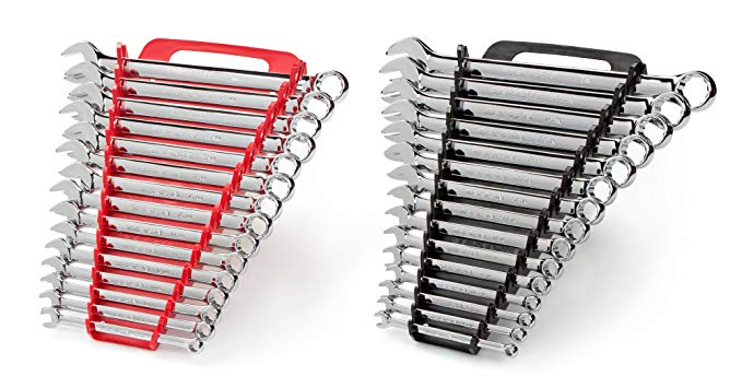 1. TEKTON Combination Wrench Set with Store and Go Keeper