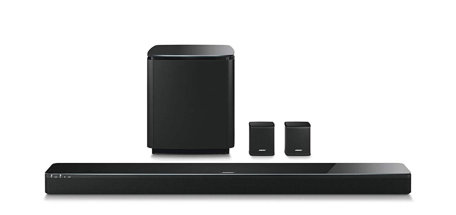 3. Bose 5.1 Home Theater Set: Soundbar 700 + Bass 700 + Surround Speakers