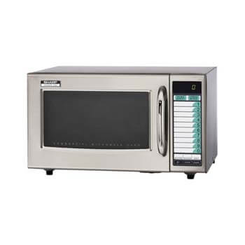 4. Sharp Medium-Duty Commercial Microwave Oven.