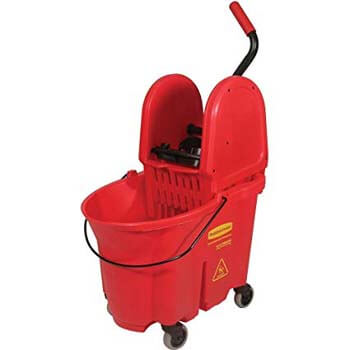 3. Rubbermaid Commercial WaveBrake Mop Bucket