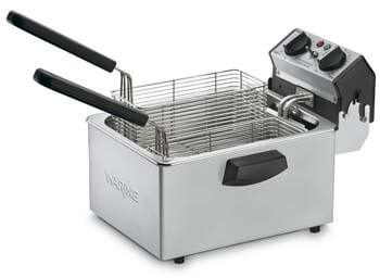 6. Countertop Compact Electric Deep Fryer
