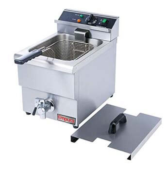 10. Empura Commercial Countertop Single Tank Deep Fryer