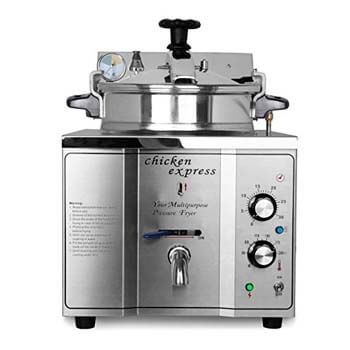 8. Ridge yard 15L Electric pressure Deep Fryer