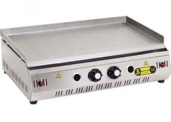 4 Propane Gas Commercial Kitchen Industrial catering Countertop Tabletop Griddle