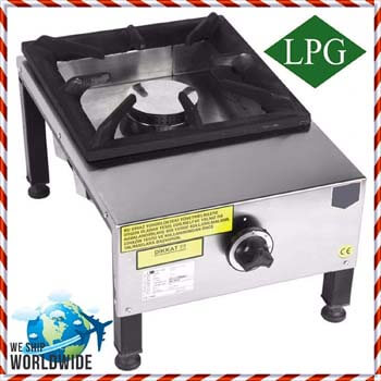 5. Commercial Kitchen equipment Heavy Duty Range Top 4 Burner Cooktop Propane Gas