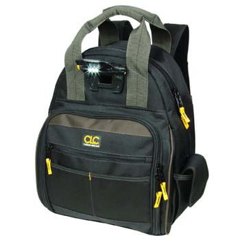 10: CLC Custom Leathercraft L255 Tech Gear 53 Pocket Lighted Back Pack