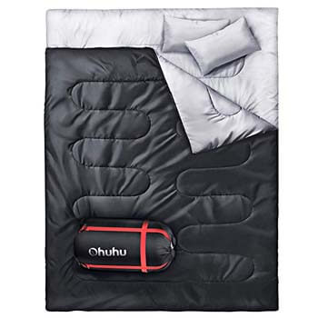 6: Ohuhu Double Sleeping Bag