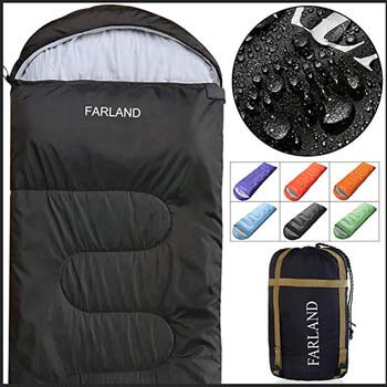 8: FARLAND Sleeping Bags for Adults Teens