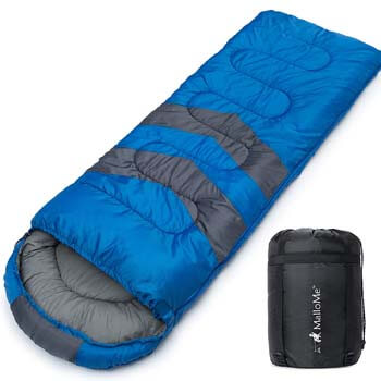 3: MalloMe Camping Sleeping Bag