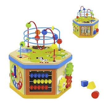 7: TOP BRIGHT Activity Cube Toys