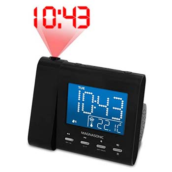 5: Magnasonic Projection Alarm Clock