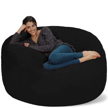 6: Chill Sack Bean Bag Chair: Giant 5' Memory Foam Furniture Bean Bag
