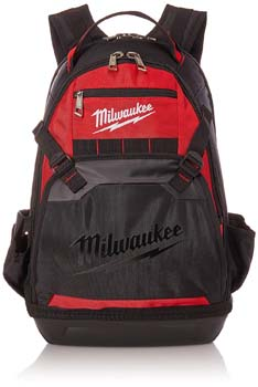 9: Milwaukee 48-22-8200 1680 Denier 35 Pocket Jobsite Backpack