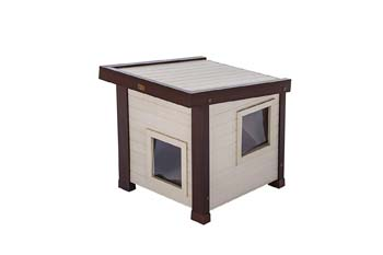 6: New Age Pet ecoFLEX Albany Outdoor Feral Cat House