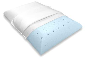 3: Bluewave Bedding Ultra Slim Gel Memory Foam Pillow