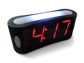 6: Travelwey Home LED Digital Alarm Clock