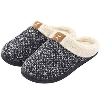 2: ULTRAIDEAS Women's Cozy Memory Foam Slippers
