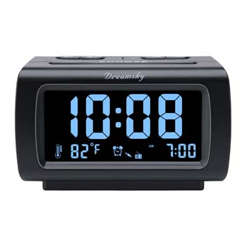 1: DreamSky Decent Alarm Clock Radio
