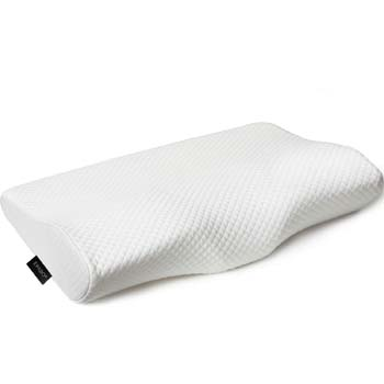 10: EPABO Contour Memory Foam Pillow Orthopedic Sleeping Pillows