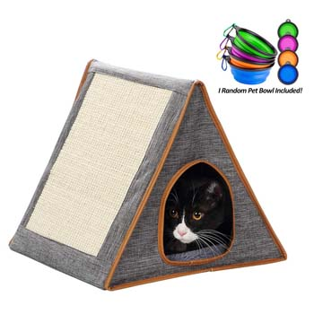 7: Coopeter Portable Warm Fold Cat House/Condo