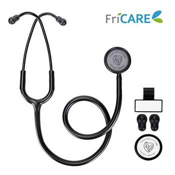 4: FriCARE Lightweight Dual Head Stethoscope for Medical Professionals Doctors